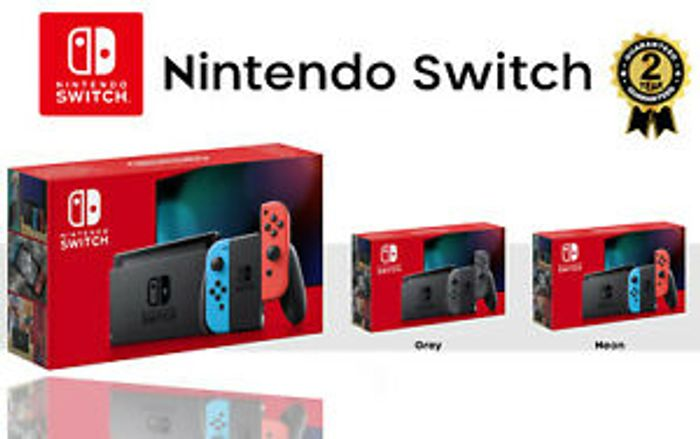 NEW NINTENDO SWITCH HANDHELD CONSOLE Only £239.99