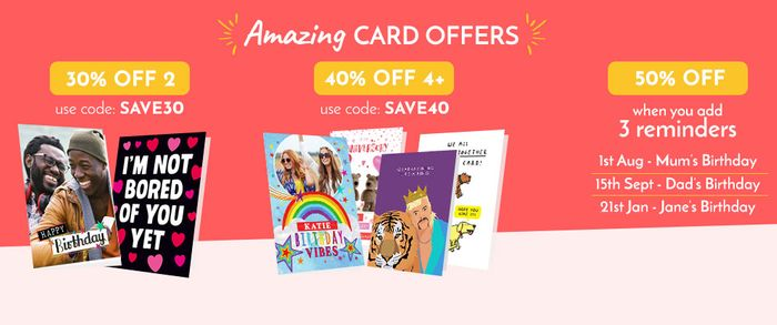 20% off Cards