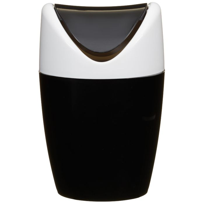 Table Top Mini Swing Bin - 1.5L - Black