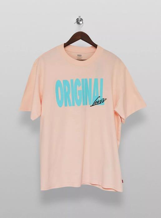 LEVI'S Dusky Pink Relaxed Original T-Shirt