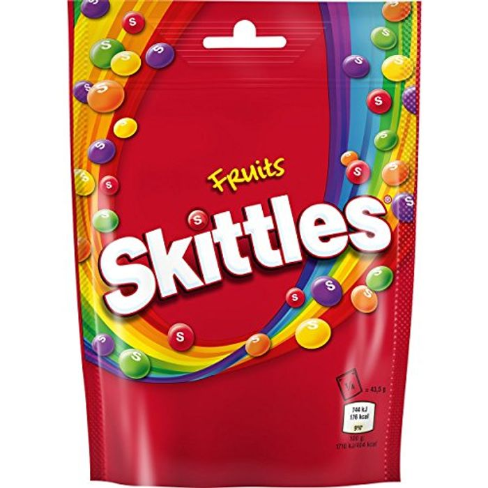Skittles Fruit, 196 G (Pack of 14)