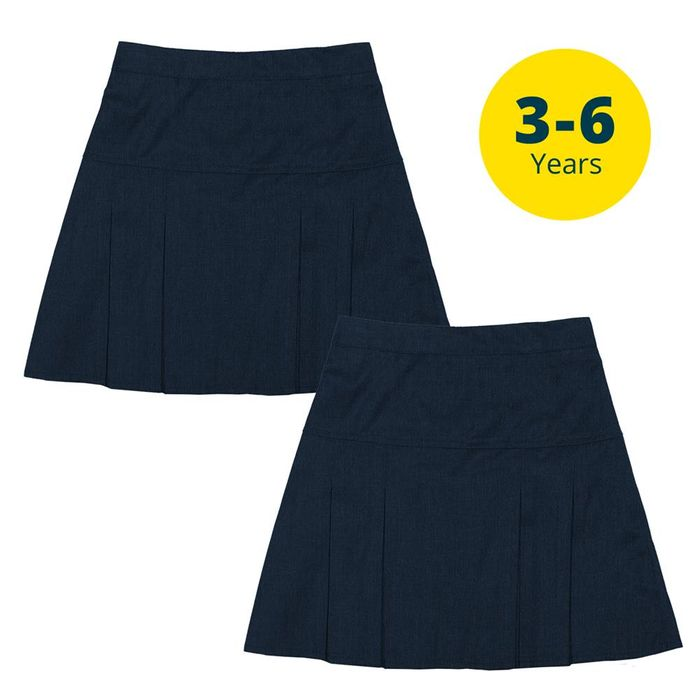 Back to School 2 Pack Navy Skirts