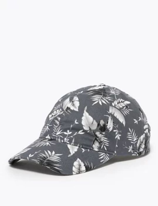 Tropical Print Baseball Cap