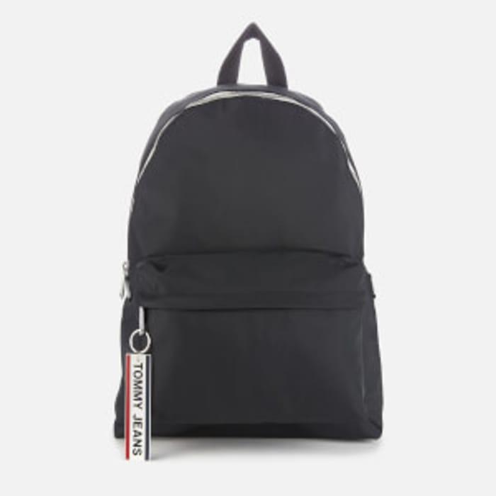 Tommy Jeans Men's Logo Tape Backpack - Black