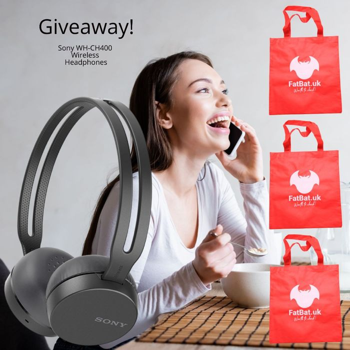 Win a Pair of Renewed Sony WH-CH400 Wireless Headphones!
