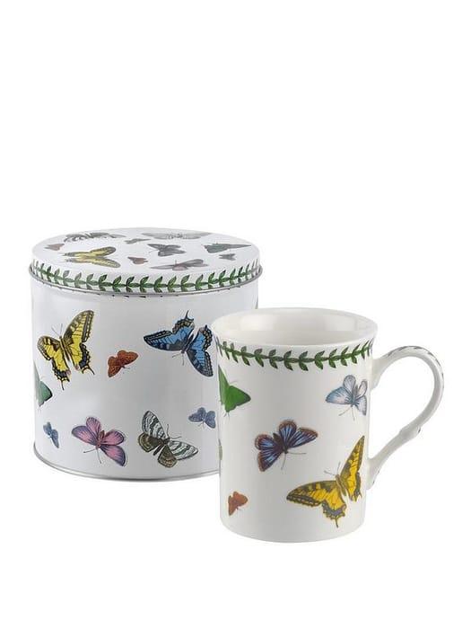 Botanic Garden Harmony Butterfly Mug and Tin Set