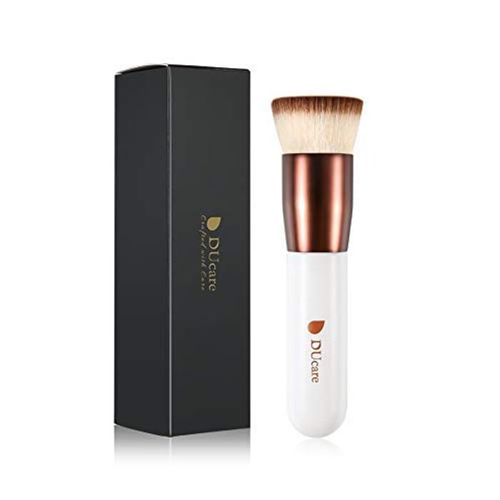 Make up Brush Foundation Kabuki Flat Top