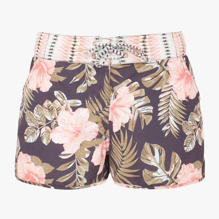 Mantaray - Grey 'Waikiki Beach' Board Shorts