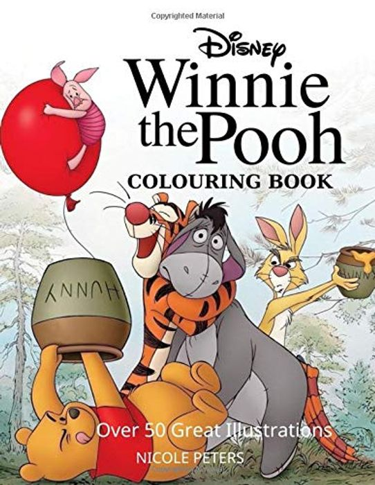 Cheap Winnie the Pooh Colouring Book Only £4.27!