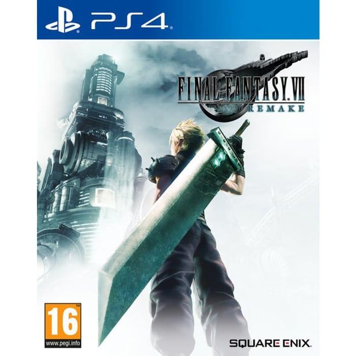 PS4 Final Fantasy VII Remake £34.99 (FREE C&C) at Argos