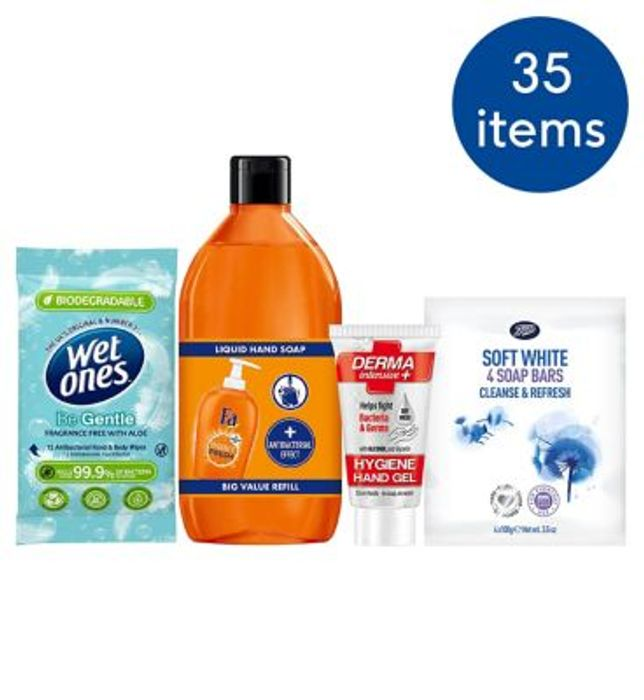 Boots Hand Hygiene Bundle - save £25.50