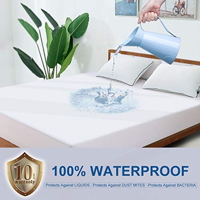 Price Drop! BedStory Towolling Waterproof Mattress Protector Superking