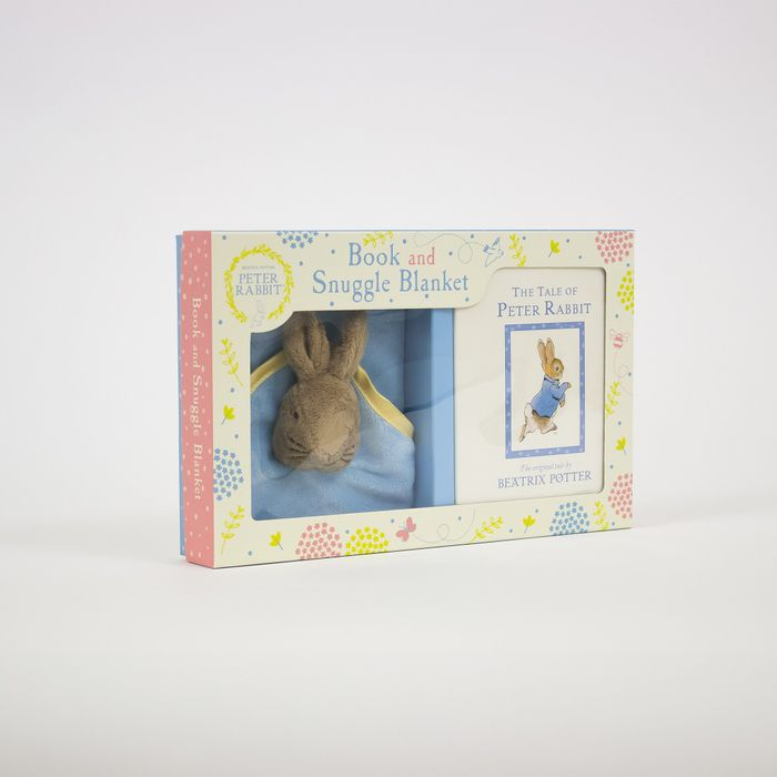 Peter Rabbit - Book & Snuggle Blanket