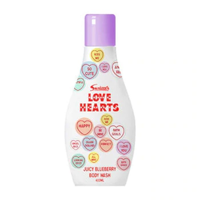 Love Hearts Bodywash Blueberry 400ml