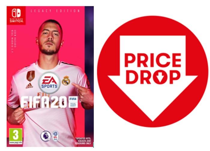 PRICE DROP! FIFA 20 Legacy Edition (Nintendo Switch)