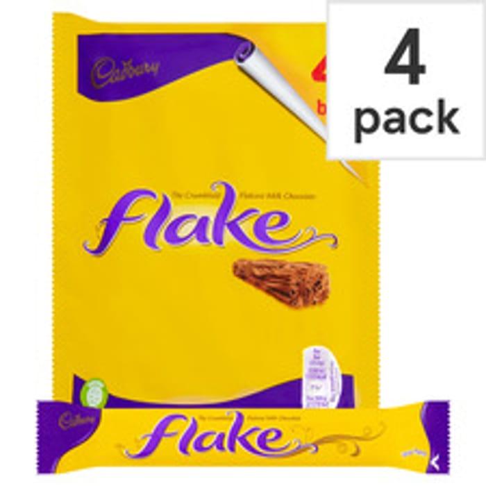 4 Pack Cadbury Flake Multipack ( 102g )