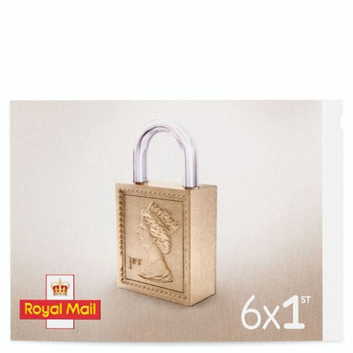 Royal Mail 1st Class Stamps X 6 Pack