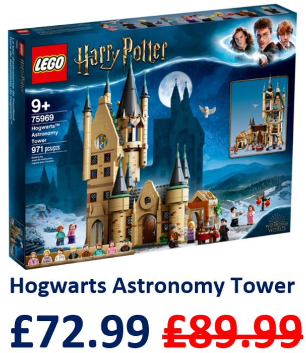 LEGO HARRY POTTER - Hogwarts Castle Astronomy Tower (75969)