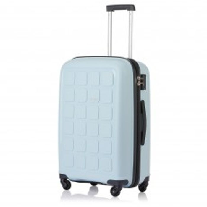 Tripp Banana/ Turquoise/ Slate &All colours'Holiday 6' Medium 4 Wheel Suitcase/
