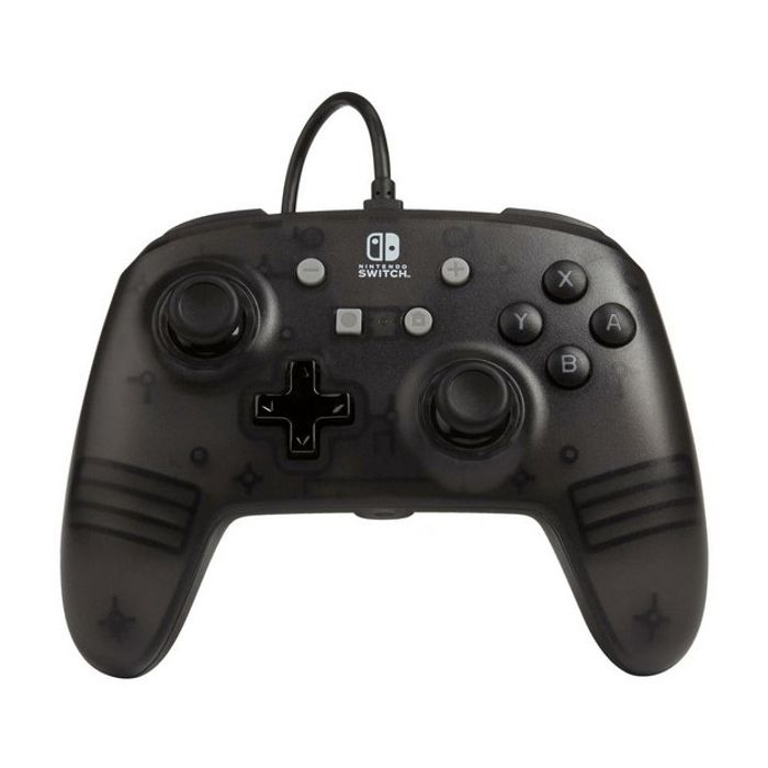PowerA Nintendo Switch Wired Controller - Frost Black