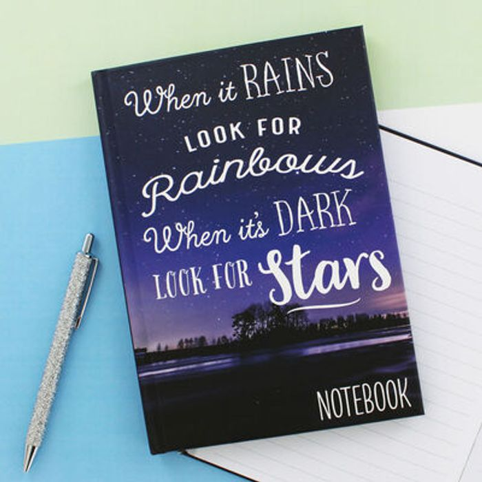 A5 Casebound When It Rains Notebook