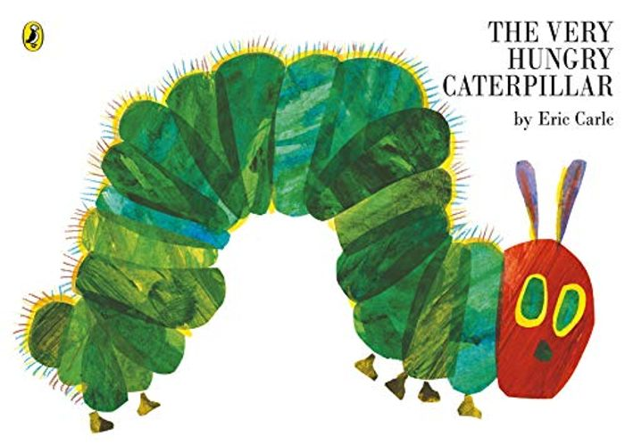 The Very Hungry Caterpillar - Board Book (Age 3-5)