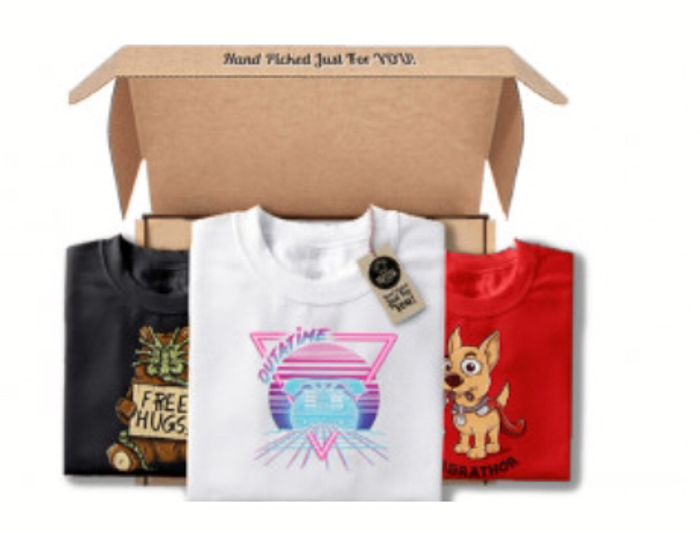 Monthly Tee Club Free T Shirts