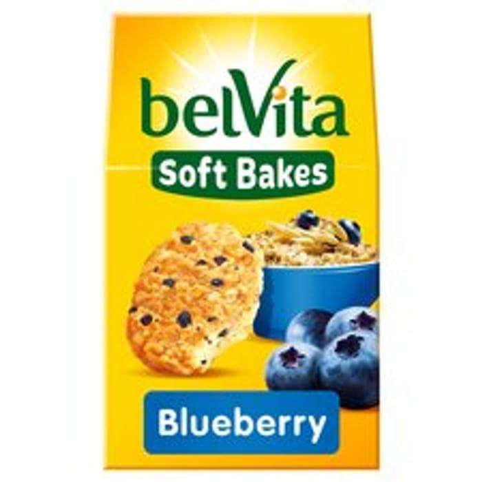 Belvita Breakfast Soft Bakes Blueberry 250G