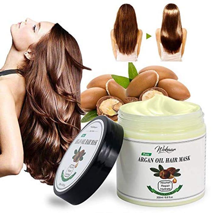 Argan Oil Hair Mask for Dry Hair