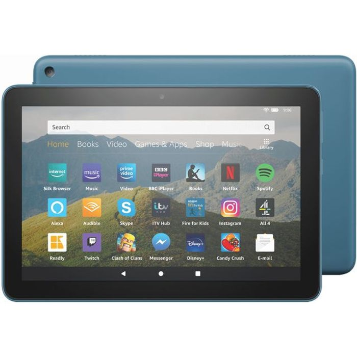 "*SAVE £10* Amazon Fire HD 8"" 64GB Wifi Tablet - Twilight Blue"