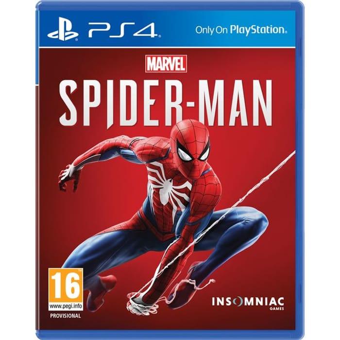 PS4 Spider-Man £15 at AO