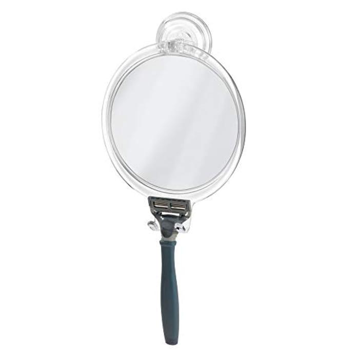 Price Drop! iDesign Power Lock Suction Mirror at Amazon