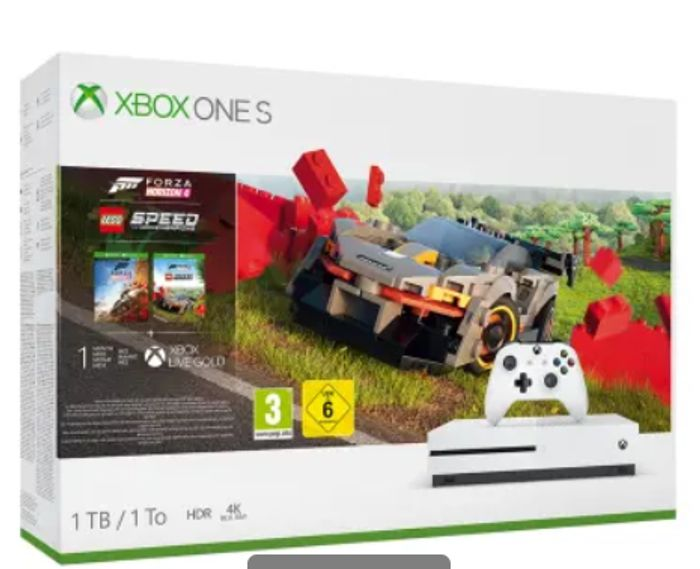 1TB XBOX ONE S FORZA HORIZON 4 LEGO SPEED CHAMPIONS BUNDLE Only £249.99
