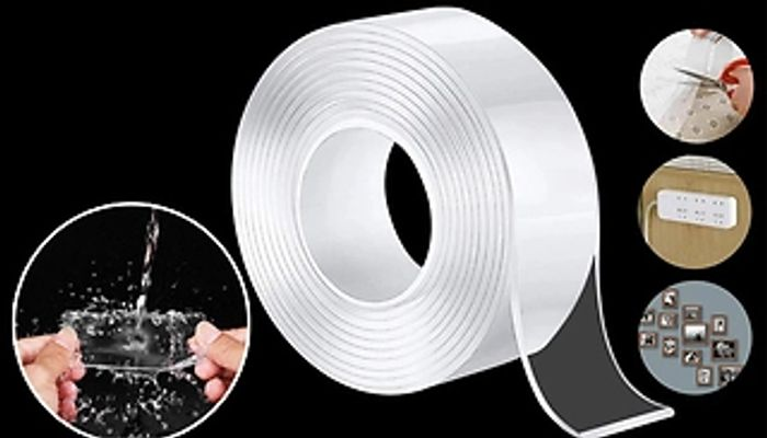 Double-Sided Traceless Washable & Reusable Tape - 1m, 2m, 3m or 5m Rolls