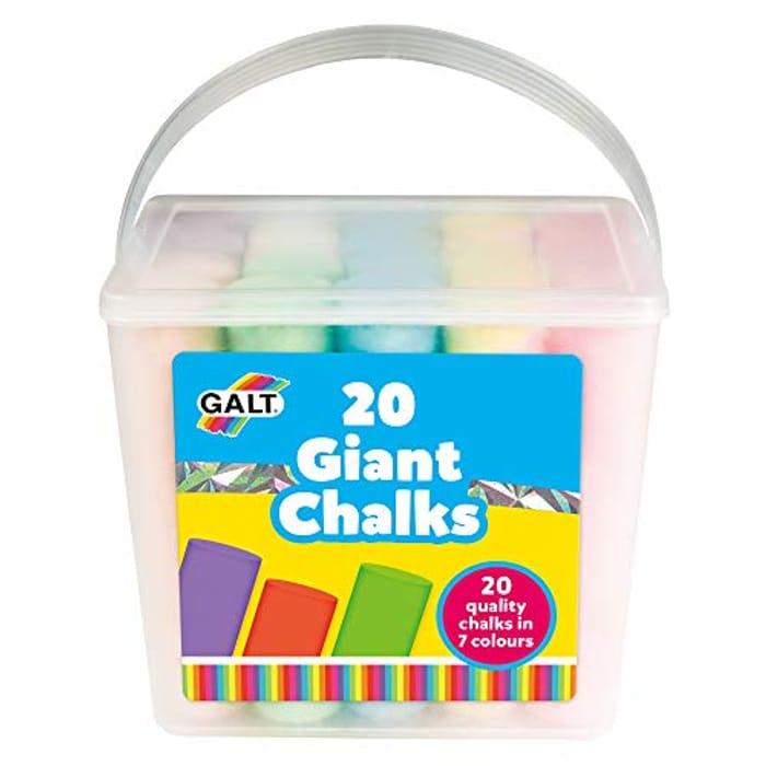 Galt Toys 20 Giant Chalks