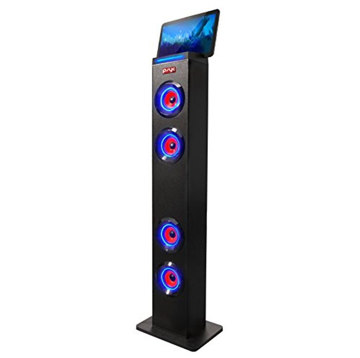 Limited time deal save £12.33 on SumvisionTorre XL Bluetooth Tower LED Speaker