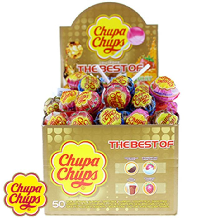 Chupa Chups Lollipops : The Best of (Case of 50)