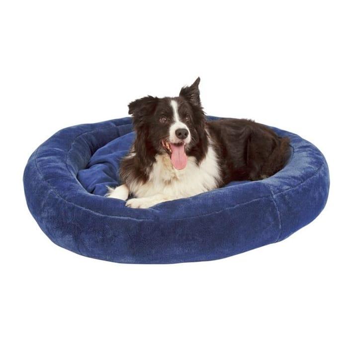 Jumbo Comfy Pet Donut Bed