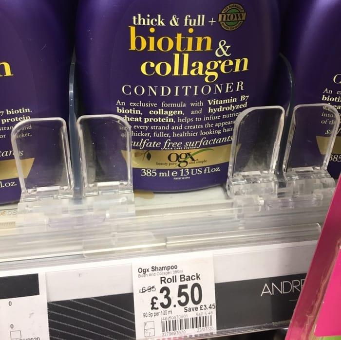 OGX Shampoo and Conditioner Half Price