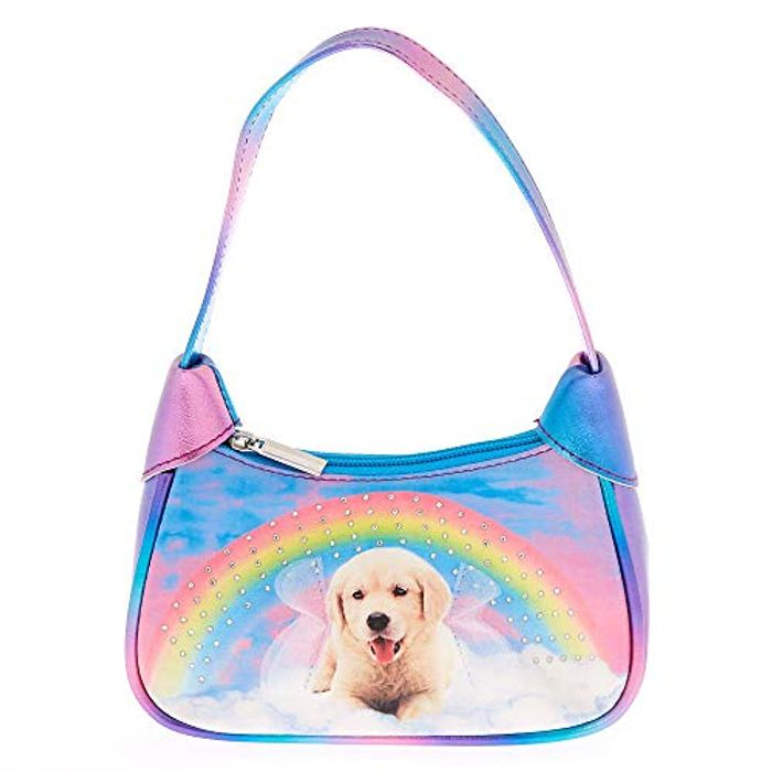 Claires Club Rainbow Puppy Purse for £2 Only