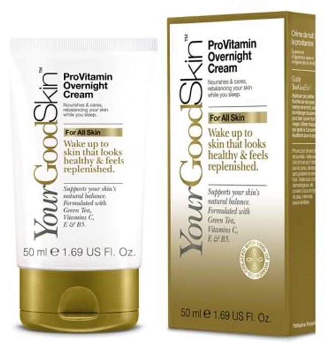 YourGoodSkin ProVitamin Overnight Cream