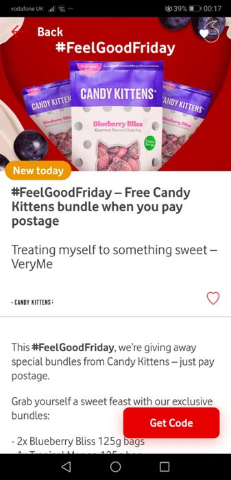 Candy Kittens Sweets Bundle