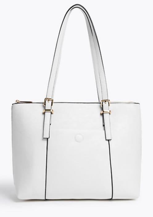 Buckle Detail Tote Bag