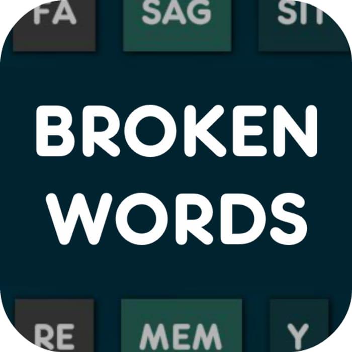 Broken Words PRO - Usually £1.59