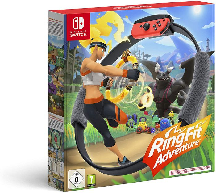 Ring Fit Adventure (Nintendo Switch) - Only £64.99!