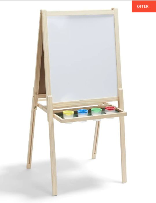 Kids 3-in-1 Activity Easel - save £10