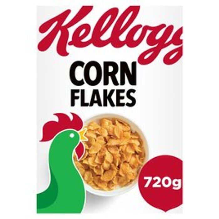 Kellogg's Corn Flakes 720g - Only £2!