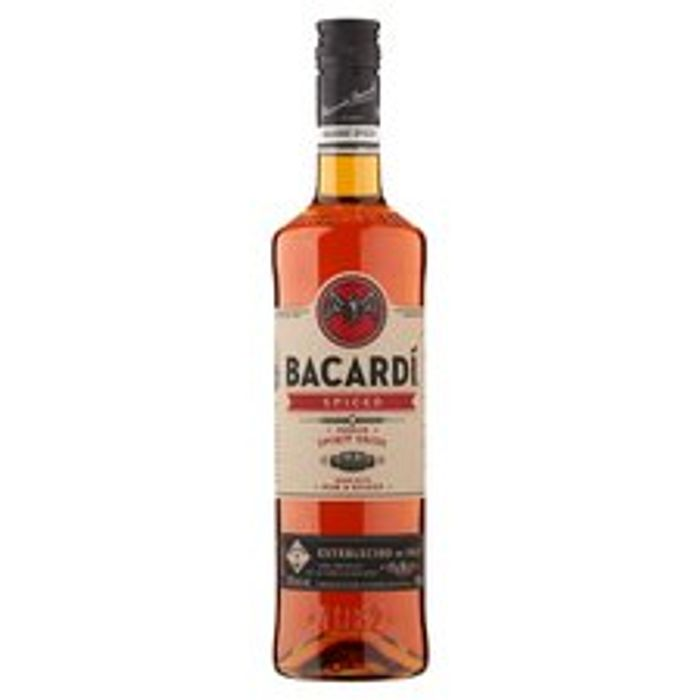 Bacardi Spiced Rum 70Cl - Only £13!