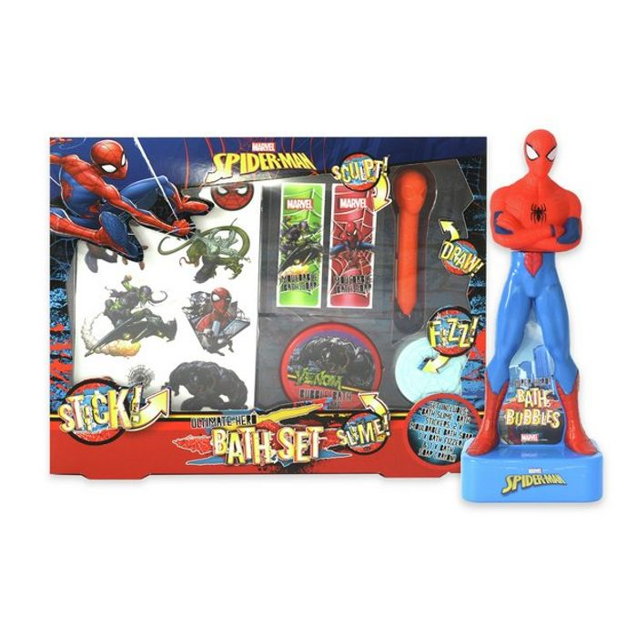 Spiderman Bath Set Down From £14.99 to £4.99