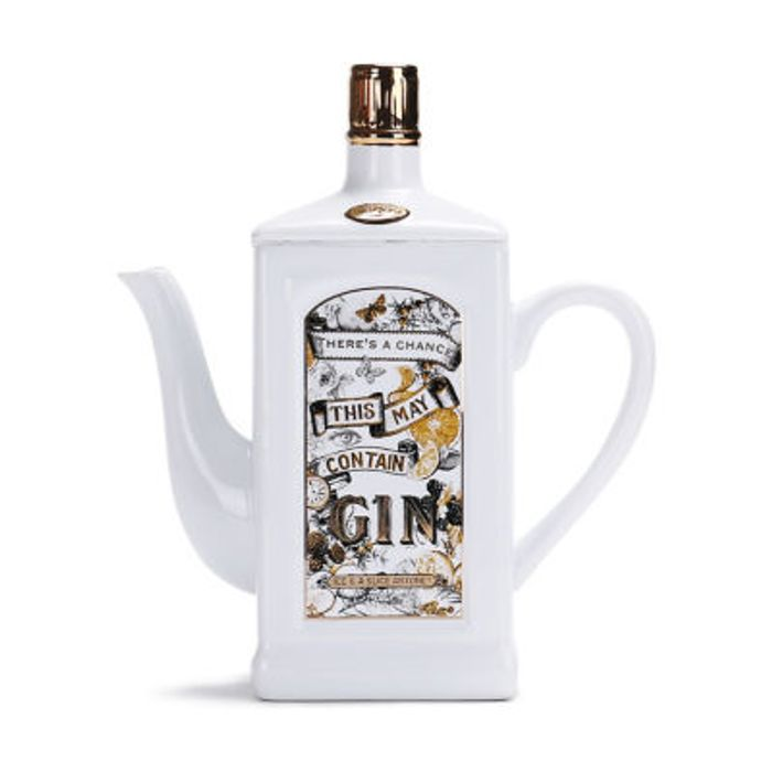 George Home May Contain Gin Teapot